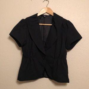 Mossimo short sleeve blazer